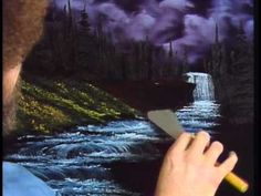 Bob Ross - Black Waterfall (Season 2 Episode 11) - YouTube