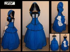 TARDIS costume {this is so awesome this is the one I need to make!}