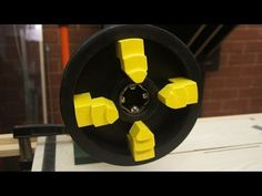 Homemade Lathe Chuck. 4-jaw Lathe Chuck for Woodwork - YouTube