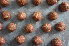 Lady and Pups | turkish kofta platter Naan Recipe, Hummus Recipe, Kufta Recipe, Turkish Recipes, Ethnic Recipes, Lamb Meatballs, Ground Lamb, Fresh Mint
