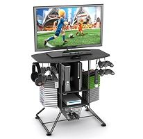Organize It All For The Dorm Room With This Versatile Tv Stand And Gaming Hub Boys Pinterest