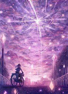 """~El tiempo ha llegado. El sol se ha ido, ya no hay mas sombras. No puedo renunciar, lo sé y esta vida continuará.~ By """"Zerochan"""""""