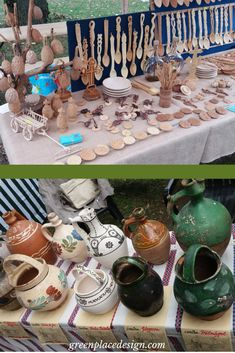 A closer look to the Folk Craftsmen Fair held in Timisoara, Romania Timisoara Romania, Indoor Outdoor, Outdoor Decor, Clay Pots, Vacation Trips, Wood Crafts, Craftsman, Closer, Hold On