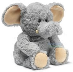 Plush loveable animal that is also microwaveable to that it is warm and snuggly.