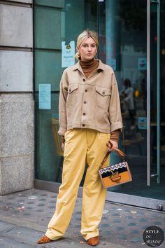 London SS 2018 Street Style: Camille Charriere | STYLE DU MONDE | Bloglovin'