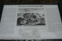 The History Of Powder Mill Park