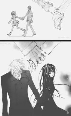 Vampire Knight. - Zero & yuuki