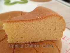 My Mind Patch: Rice cooker Vanilla Chiffon Cake
