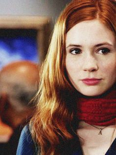 """""""The way I see it, every life is a pile of good things and bad things. The good things don't always soften the bad things, but vice versa the bad things don't always spoil the good things or make them unimportant."""" - Eleventh Doctor • Karen Gillan as Amy Pond"""