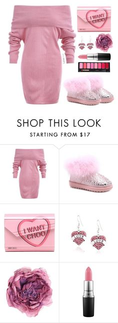 """""""TwinkleDeals"""" by simona-altobelli ❤ liked on Polyvore featuring Jimmy Choo, Gucci and MAC Cosmetics"""