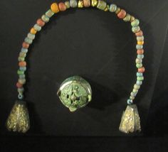 "Beads and Brooch. ""Vikings"" Exhibit at Field Museum Viking Exhibit, Chicago, Illinois, Field Museum, Chicago Illinois, Exhibit, Vikings, Medieval, Brooch, Beads, Jewelry, The Vikings"