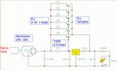 Using a single 7812 regulator to 12 Volt 30 Amp!