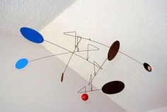 """""""Sharpie"""" hangning mobile by Unigami, via Flickr"""
