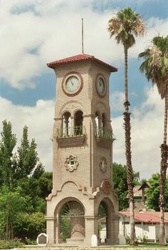 Beale Memorial Clock Tower Bakersfield, CA.