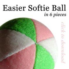EASIER Softie Ball Pattern by quexthemyuu.deviantart.com on @deviantART