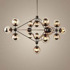 Sputnik Industriellen Edison Glühbirnen Pendelleuchte Moderne Kronleuchter  Für Hohe Decken Jason Müller Modo