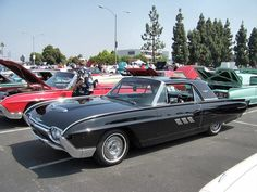 1963 Thunderbird, MILES of chrome.