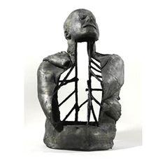 black - man - torso - fear of fear - figurative sculpture - Marc Quinn Sculpture Projects, Ceramics Projects, Marc Quinn, Ceramic Figures, Youth Culture, Modern Sculpture, Black Man, Art History, Skulls