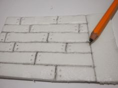 Minifanaticus: Using your scraps and crafting cheaply: Foamboard