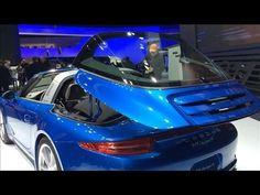 Porsche's New 911 Targa Sports Car | Detroit Auto Show 2014 l Wall Street Journal