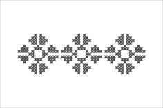 Semne Cusute: MOTIVE: stele Embroidery Motifs, Cross Stitch Embroidery, Embroidery Designs, Mug Printing, Needle And Thread, Beading Patterns, Pixel Art, Diy And Crafts, Mosaic