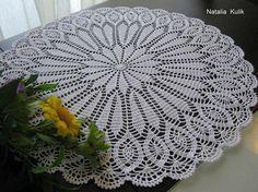 Doily crochet crochet narkin white doily lace napkin home