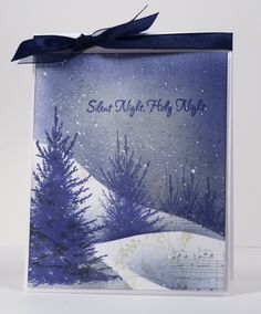 Masking fluid Christmas collage by Heather Telford, via Flickr