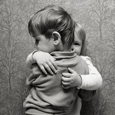 Children, when they are smaller, are self centered and want to protect what is theirs. As they grow older, they want to be liked by others; so they learn to share things with each other when they are together.