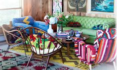 bright colors, bright patterns