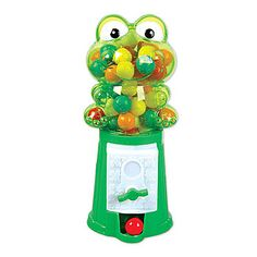 Frog Gumball Machine - Favor - Great for the little ones that attend your reception - or for a princess tiana princess party.