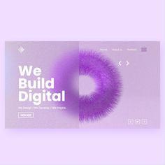 Website Design Inspiration, Graphic Design Inspiration, Website Header Design, Creative Design Agency, Web Design, 3d Typography, Landing Page Design, Graphic Design Branding, Motion Design
