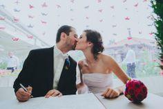 Reused & Recycled Macedonian Wedding: Marta & Vedran