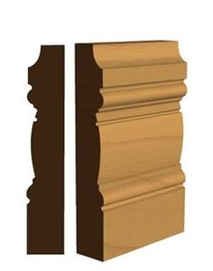 We stock a wide range of quality wooden skirting boards, architraves and general mouldings, see the UK's largest range of original period and contemporary designs. Wooden Skirting Board, Skirting Boards, Georgian Townhouse, Georgian House, Wall Molding, Moulding, Georgian Doors, Regency House, Georgian Interiors