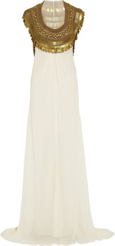 Love this: TEMPERLEY LONDON Goddess Embellished Silkchiffon Gown @Lyst SOCIALITE~~DRESSMESWEETIEDARLING