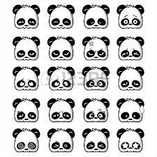 """Résultat de recherche d'images pour """"panda dessin mignon"""""""