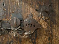 Door lock, Vogo Stave Church, Vagamo, Norway