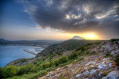 xabia spain   Sunset over Xabia, Spain