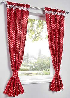 Bedruckter Vorhang mit Raffhalter Pack), Tunnelzug Lilly curtain (set of Curtain Tie Backs, Curtain Sets, Gems For Sale, Printed Curtains, Electronics Projects, Bpc Living, Design, Home Decor, Blog
