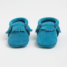 Turquoise Suede - Limited Edition Moccasin