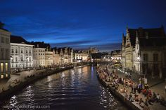Inspire Bohemia: Ghent at Night: City of Lights and Shadows