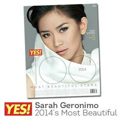 Look who's on the cover of YES magazine's 100 Most Beautiful Stars? None other than our only girl, Ms. Graphic Quotes, Fb Covers, Only Girl, Geronimo, Filipina, Beautiful Celebrities, Most Beautiful, Blind, Ms