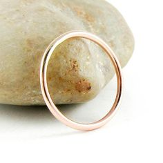 Rose Gold Ring 14K Rose Gold FIlled Ring Thin Gold Ring