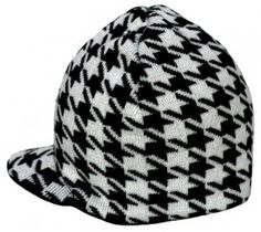 "Born to Love's ""Reversible Houndstooth"" Beanie"
