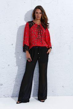 Calça pantalona - Verão 2014 15 #ss15 #pantalonapants