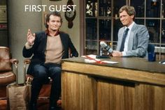 Bill Murray on The Late Show with David Letterman