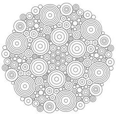 Don't Eat the Paste: Circles Mandala: