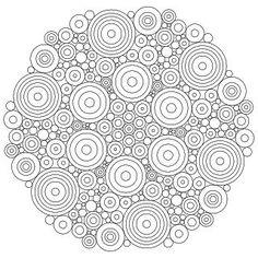 Don't Eat the Paste: Circles Mandala:
