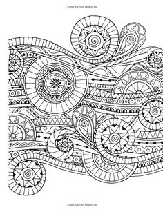 A Coloring Page From Detailed Designs And Beautiful