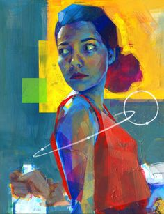 Lively Sci-Fi-Inspired Paintings by Kwanchai Moriya