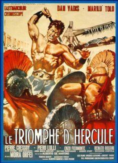 Il trionfo di Ercole (1964) - aka - Hercules vs. the Giant Warriors ~ Stars: Dan Vadis, Marilù Tolo, Pierre Cressoy ~  Director: Alberto De Martino